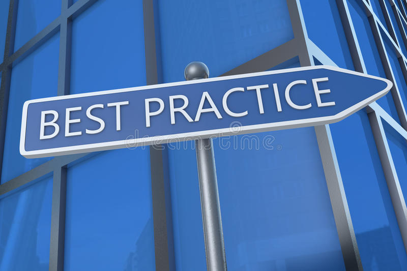 Best Practice royalty free stock photo