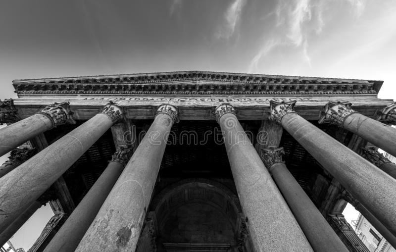 Pantheon - History stock images