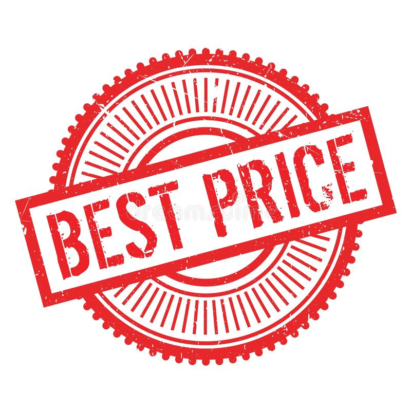 Best price stamp vector illustration