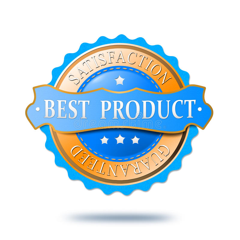 Download Best product label stock illustration. Image of seal - 29225777