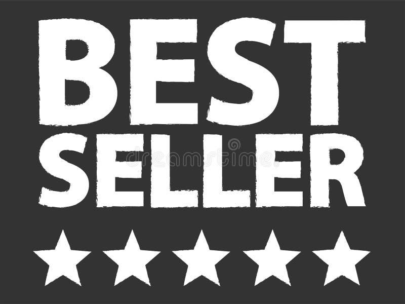 Best Seller Five Star Award stock illustration