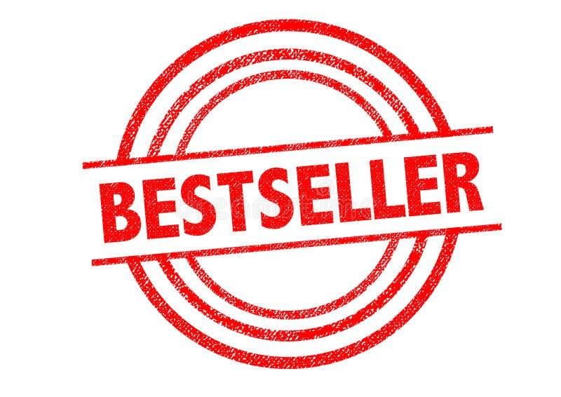 Best-seller rubberzegel royalty-vrije illustratie