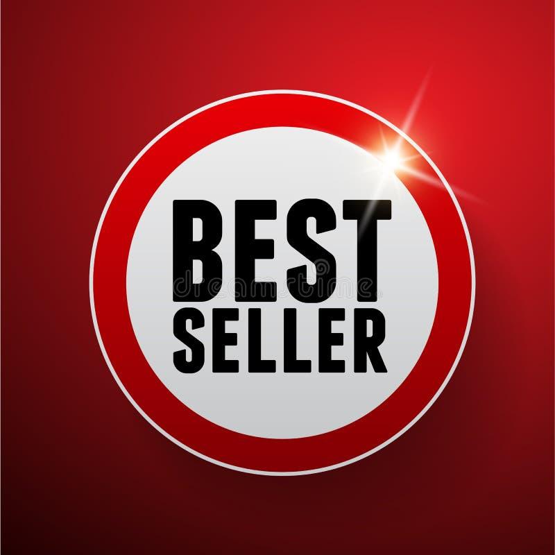 Best-seller vectorteken royalty-vrije illustratie