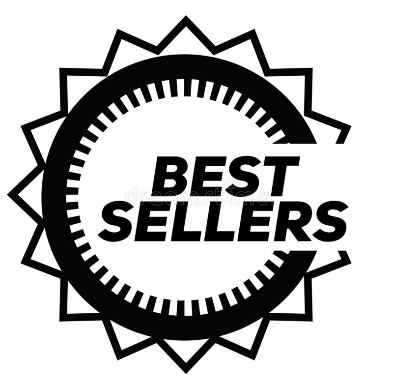 Free BEST SELLERS Stamp On White Royalty Free Stock Image - 144755296