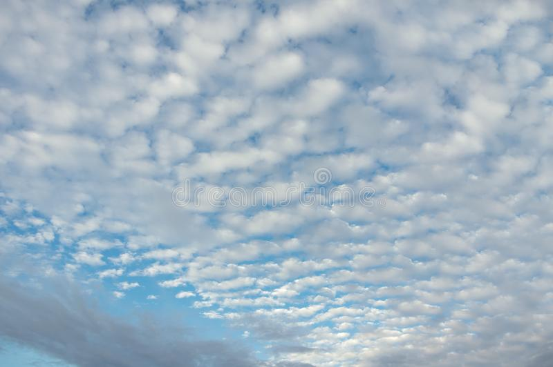 The best of the sky and clouds for background, wallpaper, cover and design... royalty free stock photography