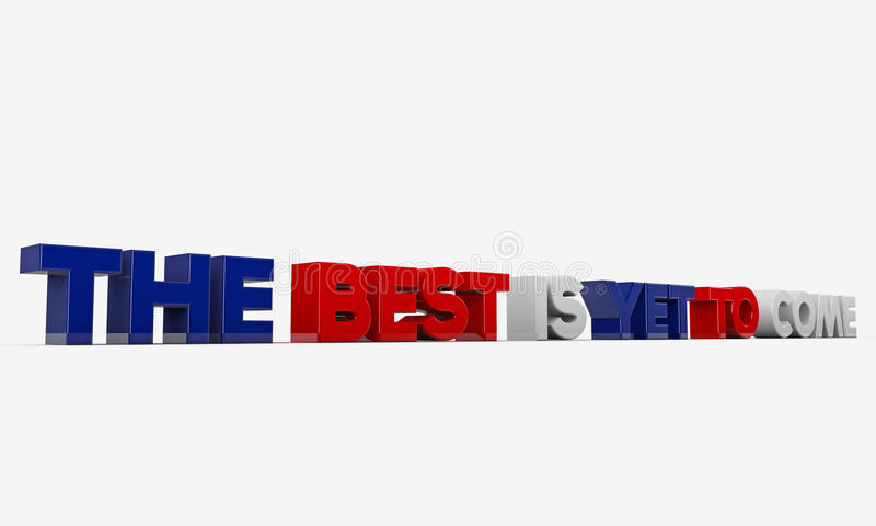 Download The Best Is Yet To Come Stock Photography - Image: 27590502