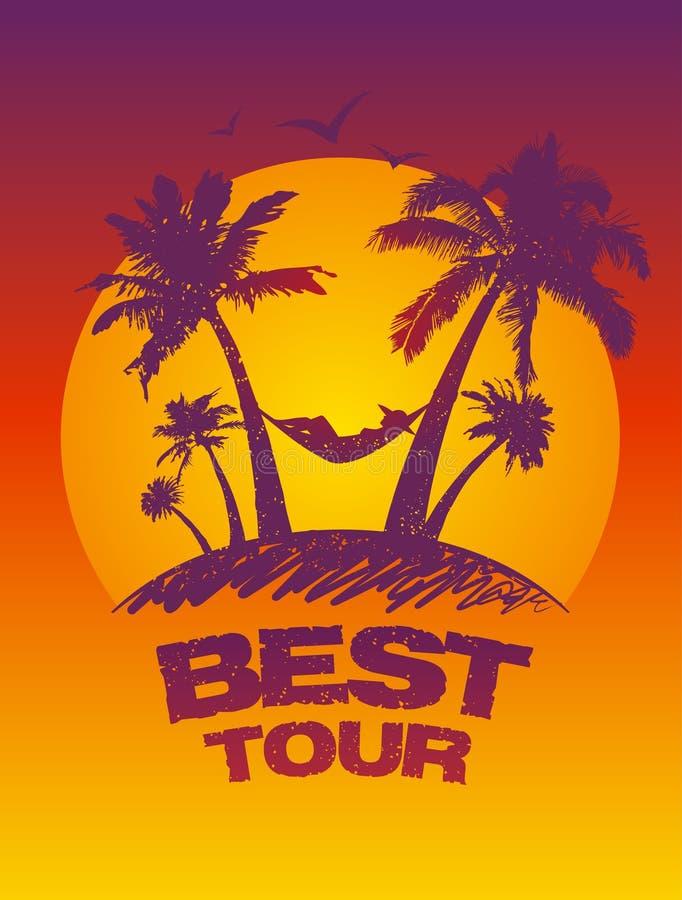 Download Best tour design template. stock illustration. Image of design - 25176745
