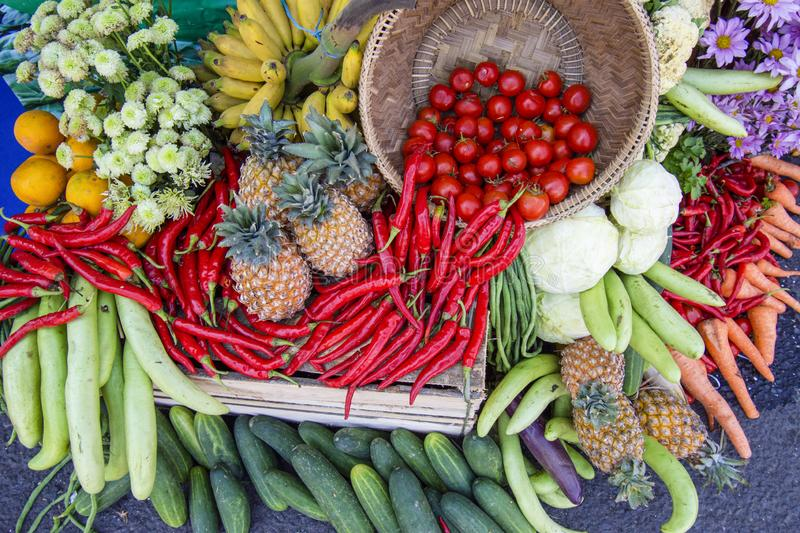 Best Tropical fruits and vegetables images. Best Tropical fruits and vegetables natural asian images indonesia java royalty free stock image