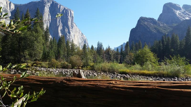 Yosemite. Best view of Yosemite royalty free stock images
