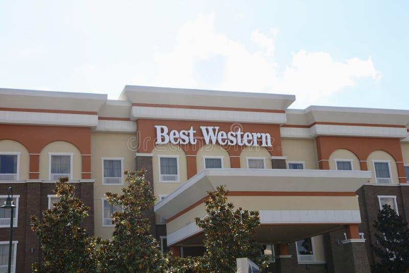 Best Western-Hotel royalty-vrije stock fotografie