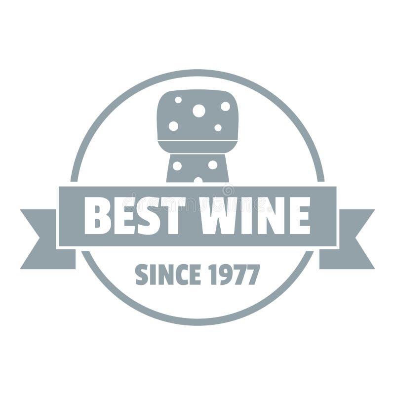 Minimalist Wineglass Logo: Best Wine Vector Banner Template With Hand Drawn Wine