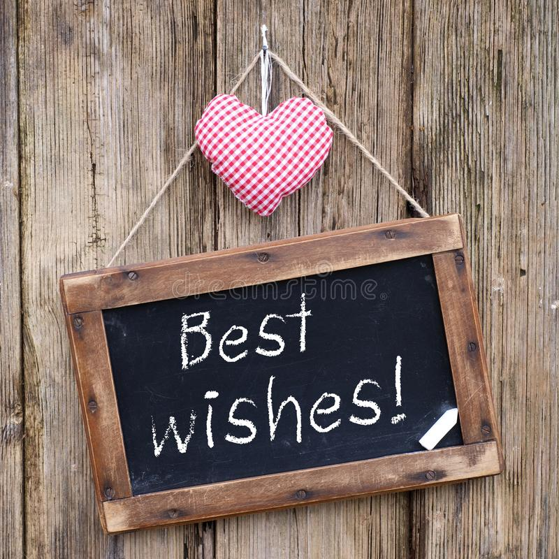 Best wishes royalty free stock image