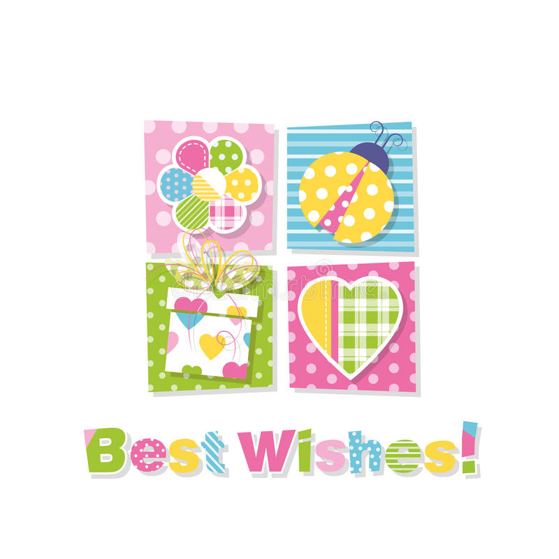 Best wishes greeting card stock vector illustration of anniversary download best wishes greeting card stock vector illustration of anniversary 46280355 m4hsunfo
