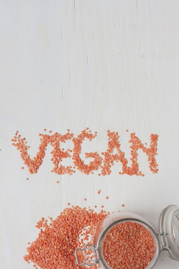 Bestandteile des strengen Vegetariers Fleischalternative stockfotos