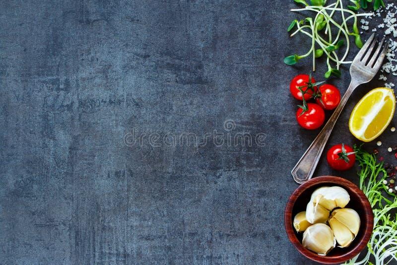 Bestandteile für das Kochen lizenzfreie stockfotografie