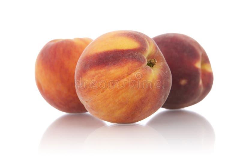 Bestandteile: Pfirsiche. stockfotos