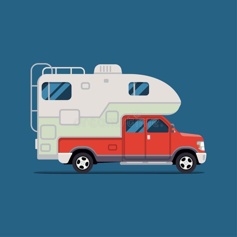 bestbanner dla camping, agenci podróży, plenerowe aktywność, sporty i plenerowy odtwarzanie i, krzywka royalty ilustracja