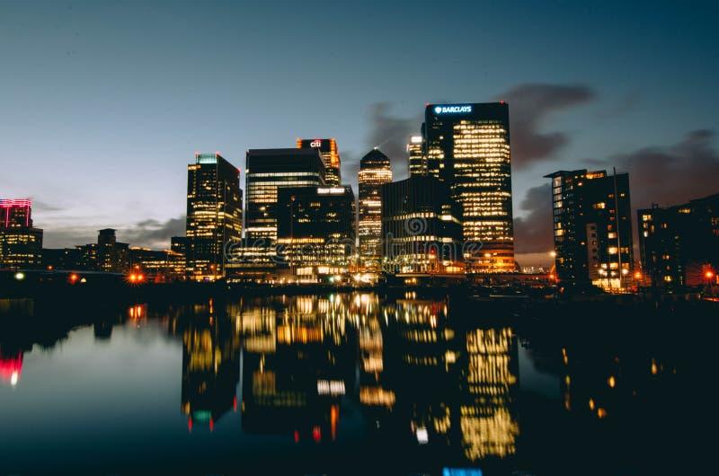 Beste Ansicht in Stadt stockbild