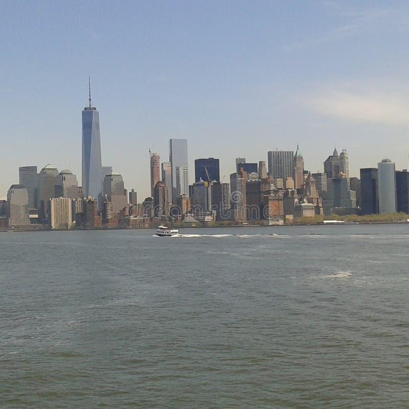 Beste Ansicht von New York! lizenzfreies stockbild