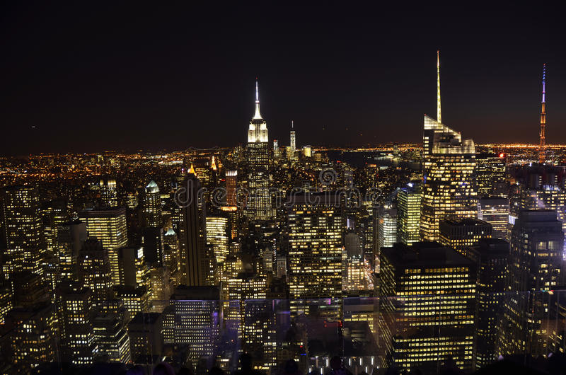 Beste Ansicht von New York City lizenzfreie stockfotos