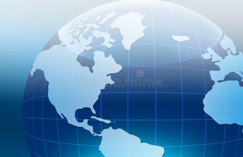 Beste concept globale zaken royalty-vrije illustratie