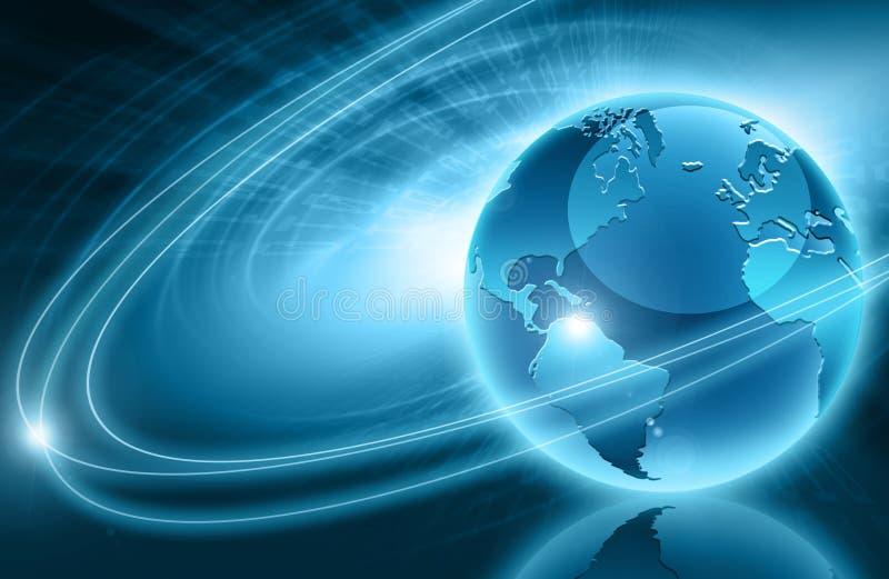 Beste concept globale zaken vector illustratie