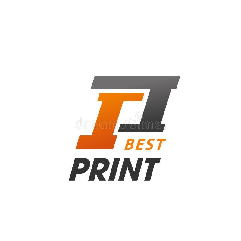Beste druk vectorteken vector illustratie