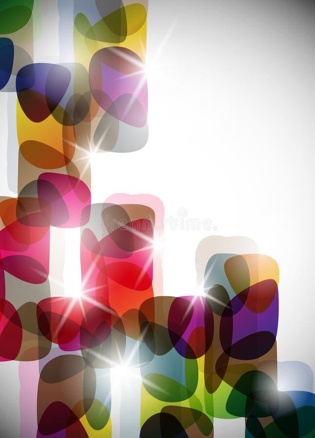 Beste futuristische, vector abstracte achtergrond vector illustratie