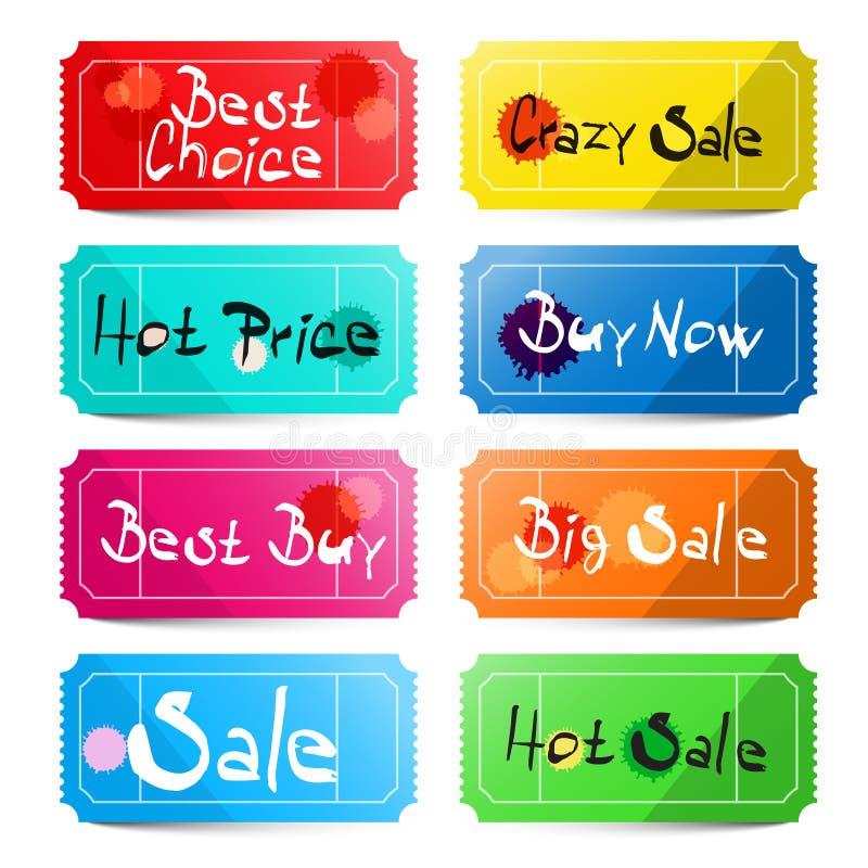 Beste Keus - Gekke Verkoop - Hete prijs vector illustratie