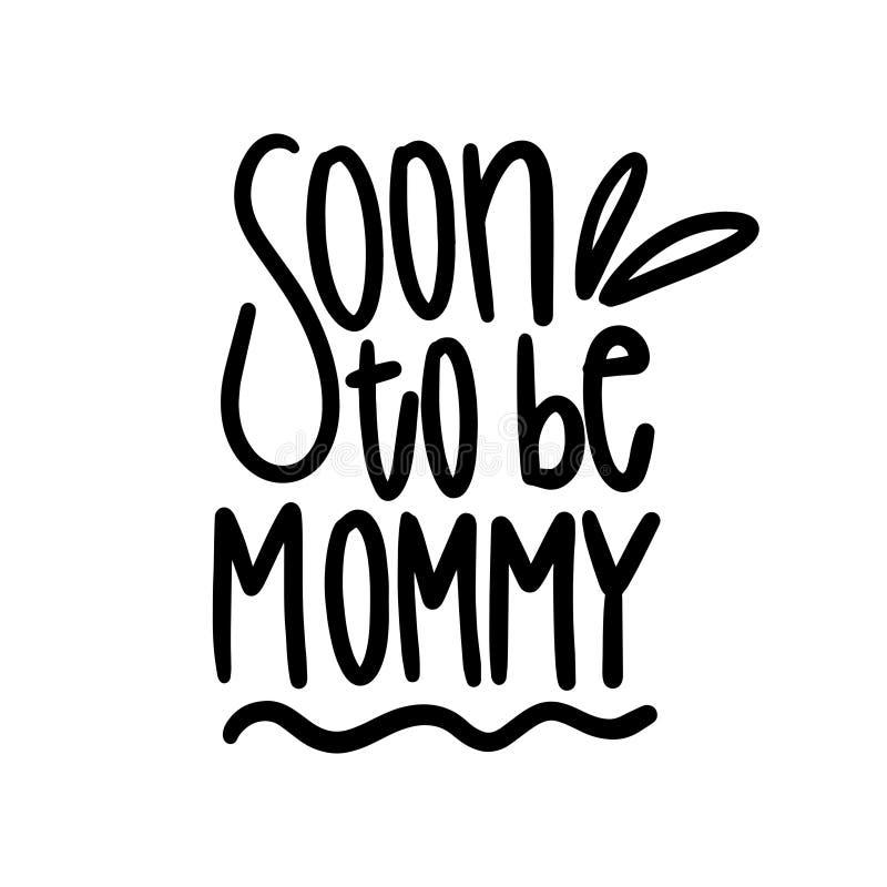 Beste Mamma ooit Citaat die Beste Mamma voor het ontwerp van de groetkaart zeggen Gelukkig Moederdagtypografie het Van letters vo royalty-vrije illustratie