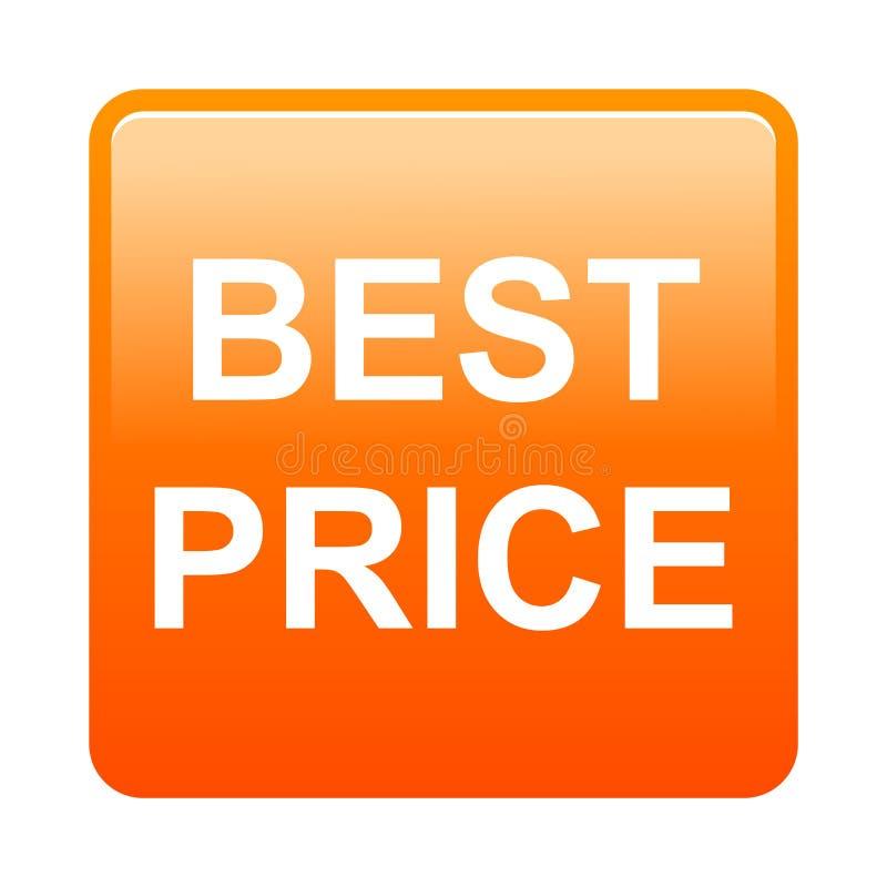Beste Preis-Taste lizenzfreie abbildung