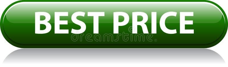 Beste prijs groene knoop stock illustratie