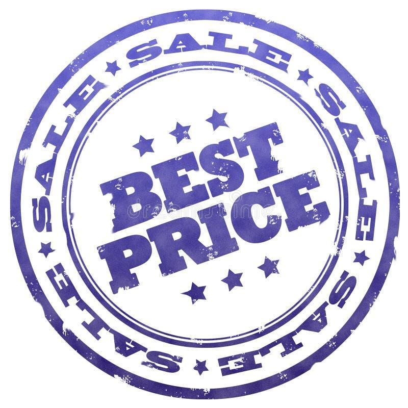 Beste prijszegel vector illustratie