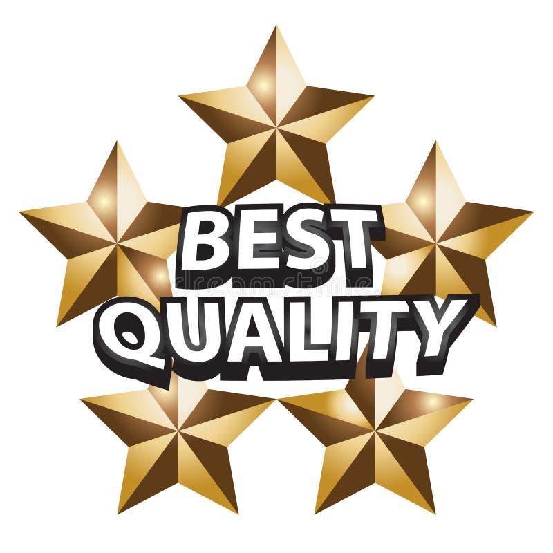 Beste Qualität stock abbildung