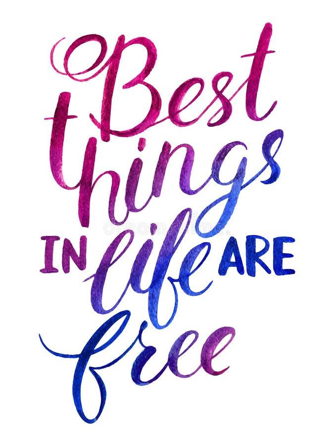 Die Besten Sachen Im Leben Sind Keine Sachen