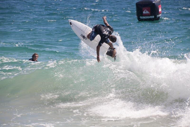 Beste Surfers van de wereld royalty-vrije stock afbeeldingen