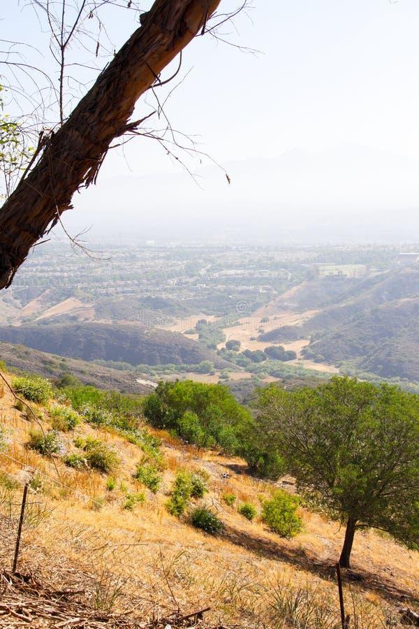 Beste Tätigkeit im Freien für Eignung und Entspannung Genießen der Natur und der ruhigen Umgebungen von der Spitze des Hügels stockbilder