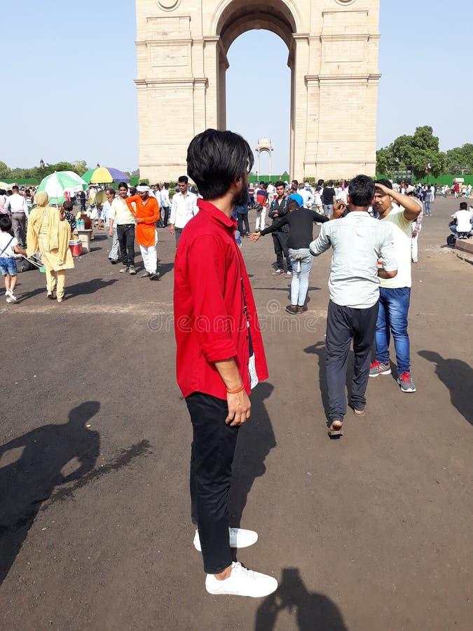 Beste toeristenplaats New Delhi stock fotografie