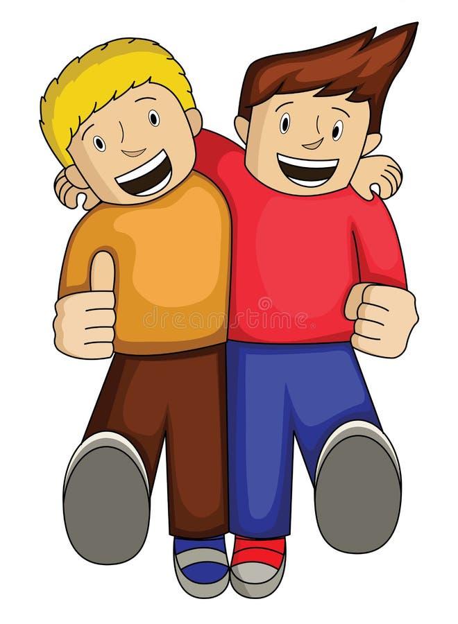 Beste Vriend vector illustratie