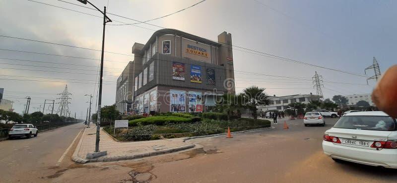 Bestech Sqare Mall indiano per fare shopping con PVR per film fotografia stock