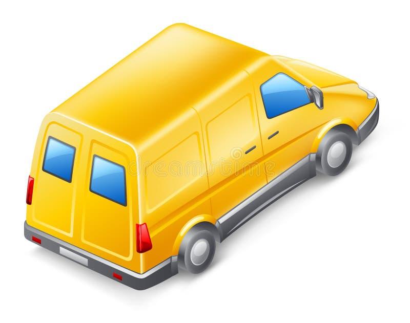 Bestelwagen vector illustratie