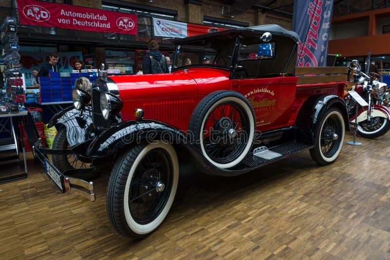 Bestelwagen Ford Model A (1927) royalty-vrije stock fotografie