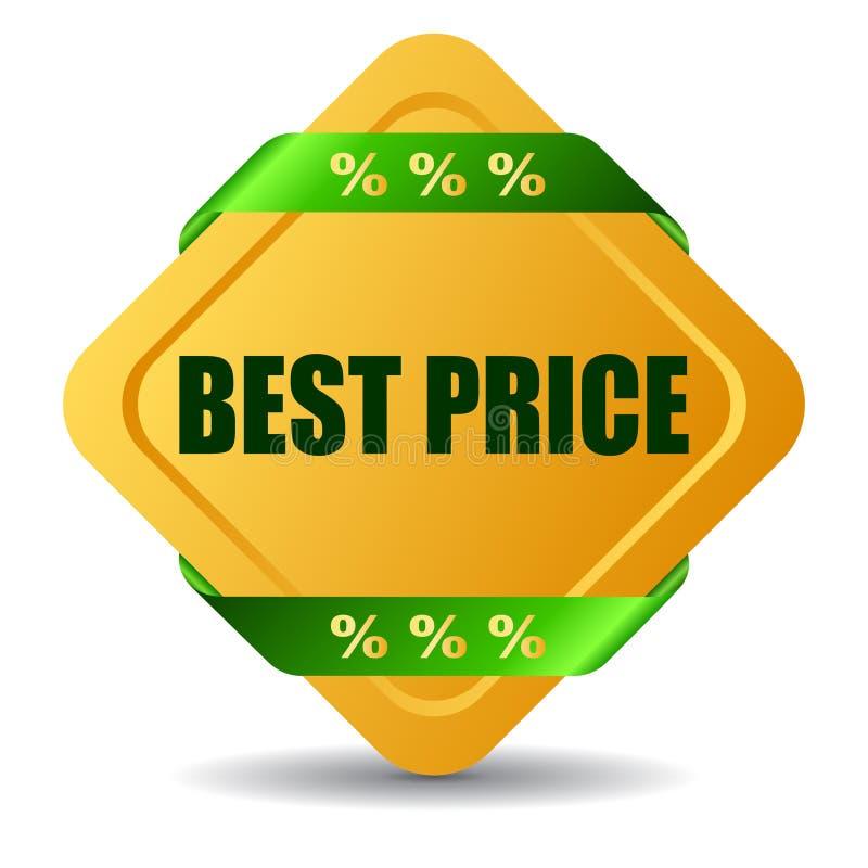 Bester Preis stock abbildung