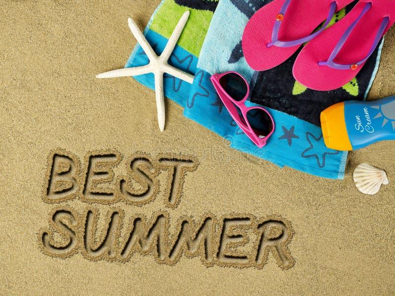 Bester Sommer lizenzfreies stockbild