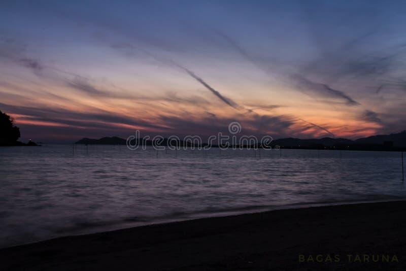 Bester Sonnenuntergang lizenzfreie stockfotos