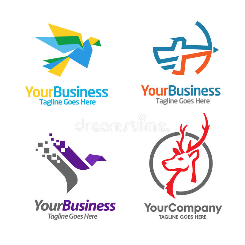 Bester Sport, der Logo Set konsultiert stock abbildung