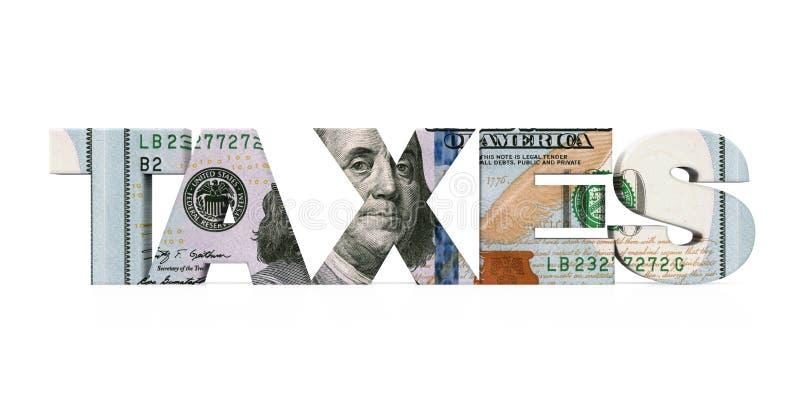 ` BESTEUERT ` Dollar lokalisiert vektor abbildung