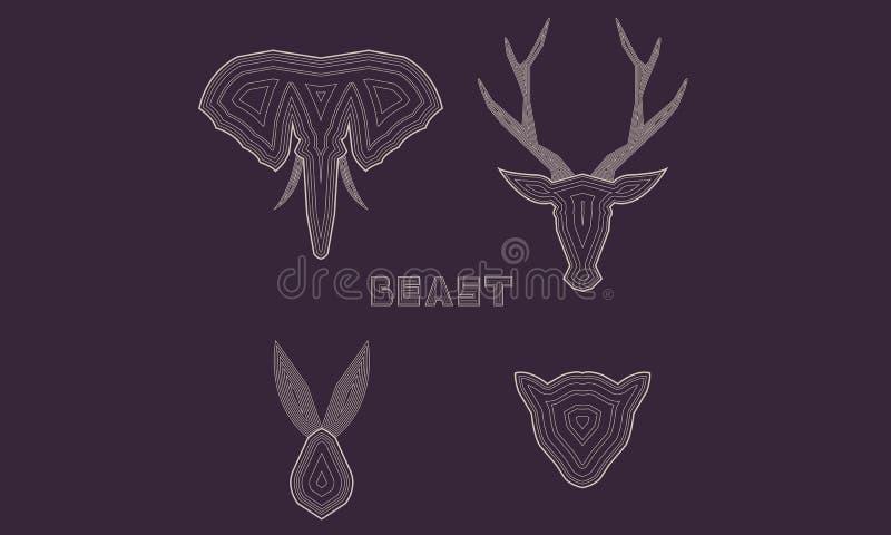 bestia royalty illustrazione gratis