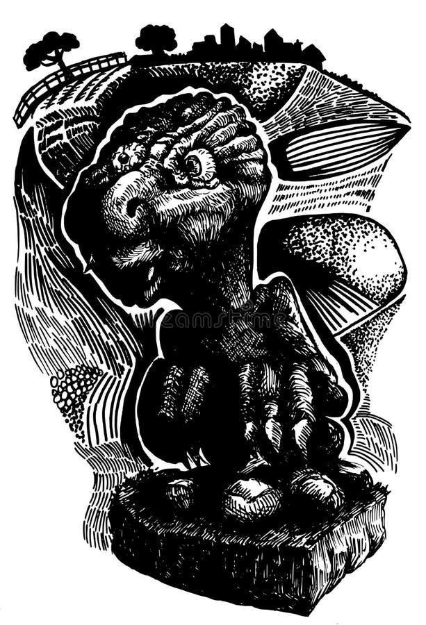 Bestia ilustracji