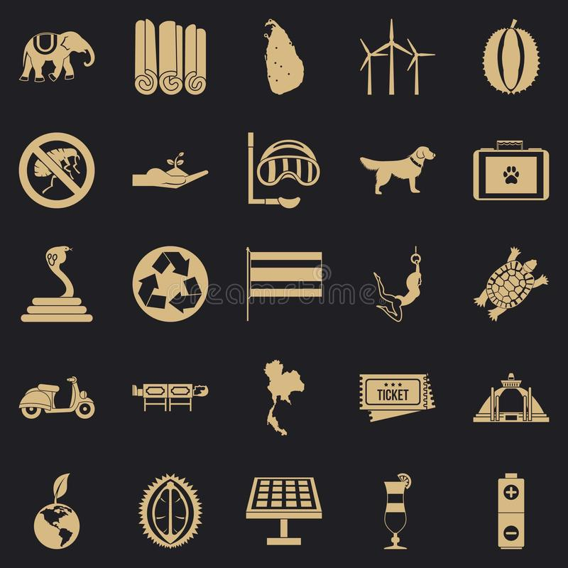 Bestial icons set, simple style. Bestial icons set. Simple set of 25 bestial vector icons for web for any design vector illustration